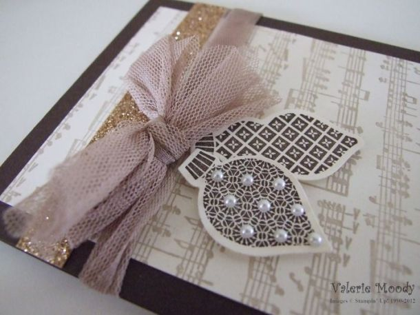 Ornament Keepsakes - Stamping With Val/ X