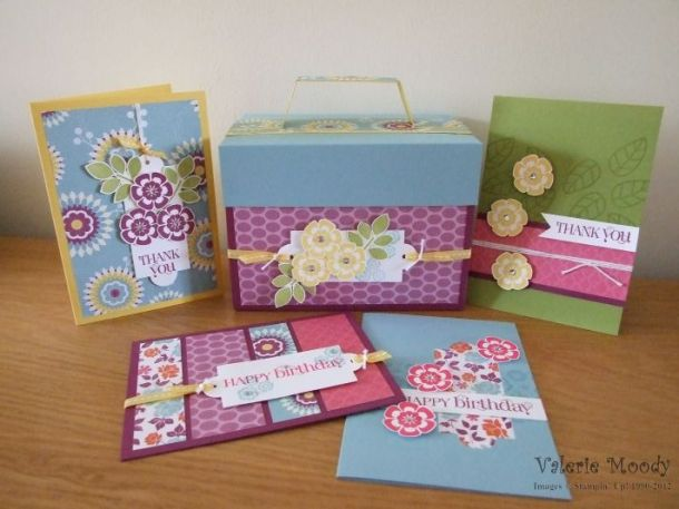 Betsy's Blossoms - Stamping With Val. X
