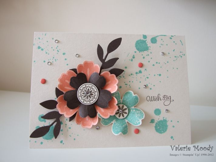Stampin' Up! Flower Shop- Stamping with Val. X