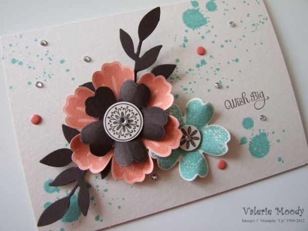 Stampin' Up! Flower Shop - Stamping with Val. X