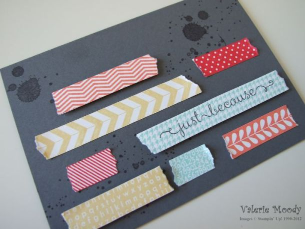 Tape It - Stamping With Val. X