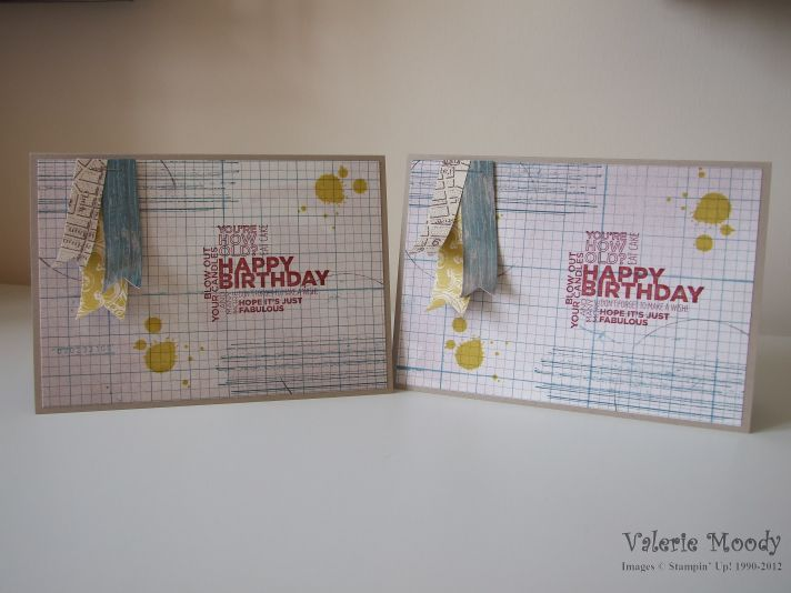 Quick Man's Card - Stamping with Val. X