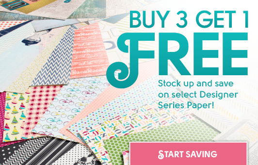 Buy 3 Get 1 Free Paper Offer Stampin' Up!
