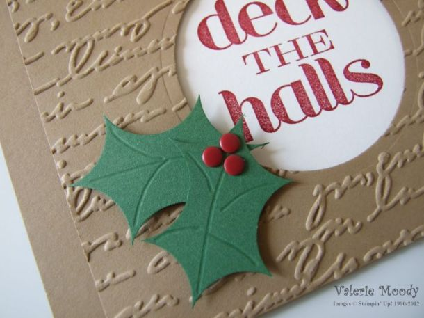Stampin' Up! Holiday Sneak Peek - Stamping with Val. X