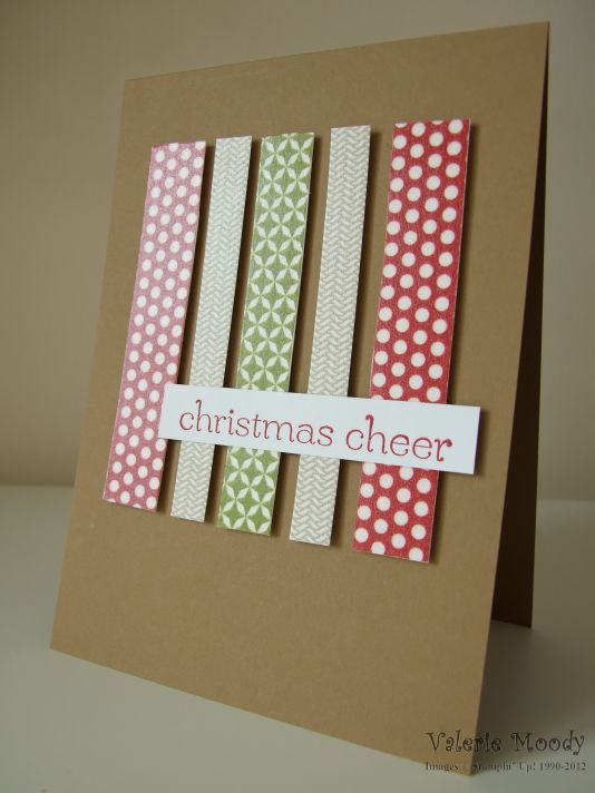 Stampin' Up! Season of Style Washi Tape - Stamping with Val. X