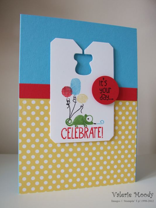 Stampin' Up! Tag It - Ronald McDonald Charity - Stamping With Val. X