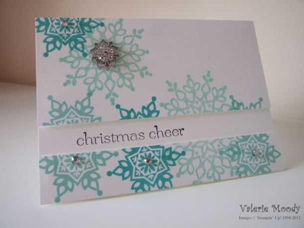 Stampin' Up! Festive Flurries - Stamping with Val. X