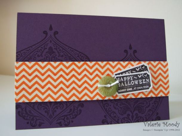 Stampin' Up! - Beautifully Baroque - Witches Brew Washi Tape - Stamping With Val. X