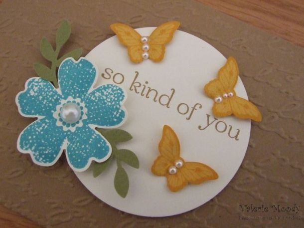Stampin' Up! - Papillon Potpourri - Stamping With Val. X
