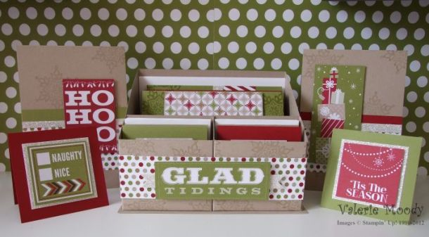 Season of Style Christmas Desk Set - Just 4 Demo's - Classes Designed for Stampin' Up! Demonstrators