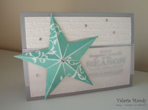 Stampin' Up! - Christmas Star - Magical Season - Stamping With Val - Valerie Moody - Independent Stampin' Up! Demonstrator. X