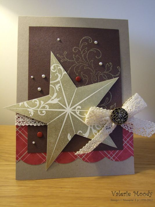 Stampin' Up! - Christmas Star - Stamping with Val - Valerie Moody, Independent Stampin' Up! Demonstrator