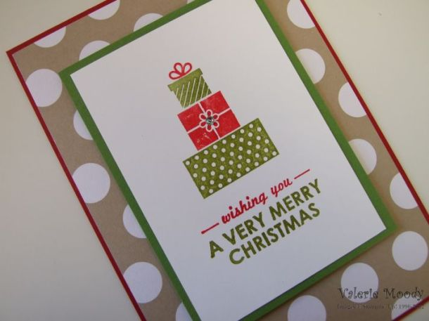 Stampin' Up! Wishing You - Stamping With Val - Valerie Moody - Independent Stampin' Up! Demonstrator. X