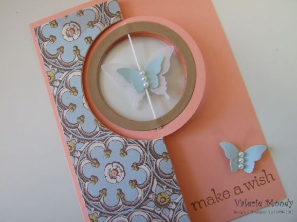 Circle Card Thinlit Dies - Stampin' Up! - Stamping With Val - Valerie Moody, Independent Stampin' Up! Demonstrator. X