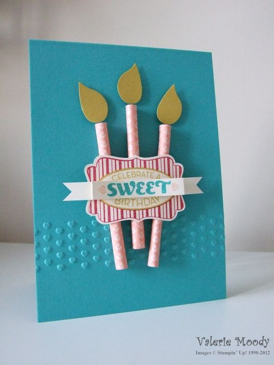 Stampin' Up! Cycle Celebrations - Stamping With Val - Valerie Moody; Independent Stampin' Up! Demonstrator. X