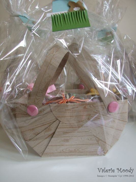 Stampin' Up! - Happy Easter - Easter Baskets - Stamping With Val - Valerie Moody; Independent Stampin' Up! Demonstrator. X