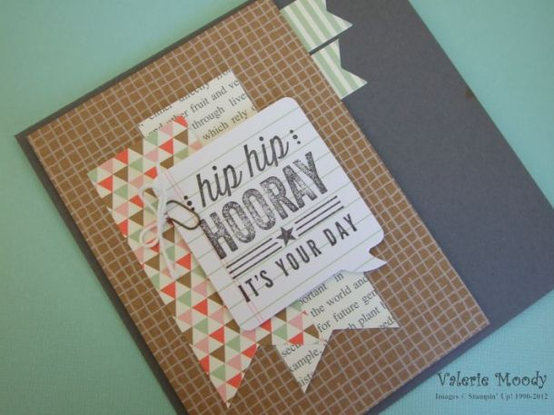 Stampin Up! Hip, Hip, Hooray Kit - Stamping With Val - Valerie Moody. X