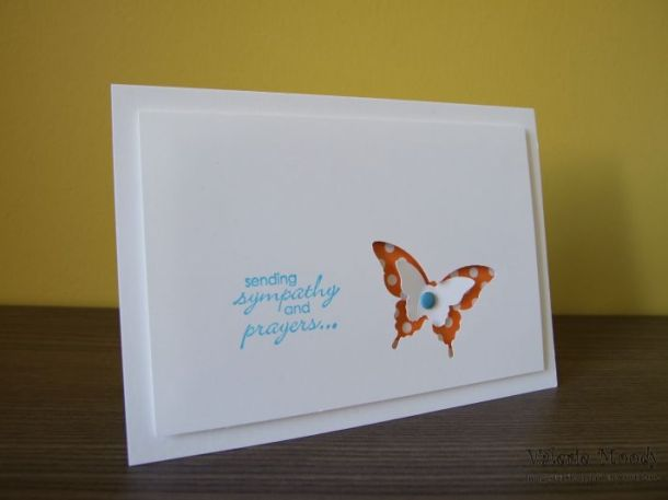 Stampin' Up! - With Sympathy - Stamping With Val - Valerie Moody; Independent Stampin' Up! Demonstrator. X