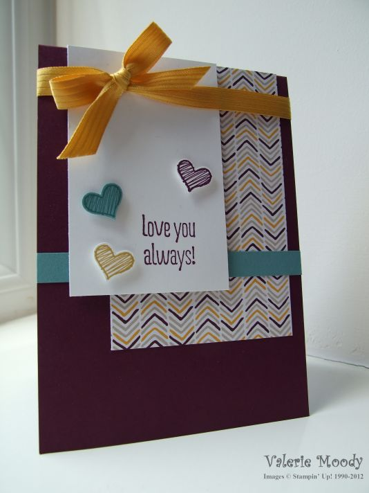 Stampin' Up! - Something To Say - Moonlight DSP - Stamping With Val - Valerie Moody; Independent Stampin' Up! Demonstrator. X