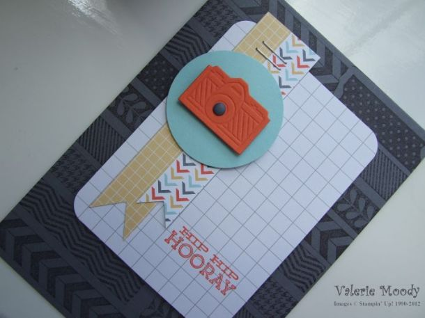 Stampin' Up! - Tape It - Hip Notes - Stamping With Val - Valerie Moody; Independent Stampin' Up! demonstrator. X
