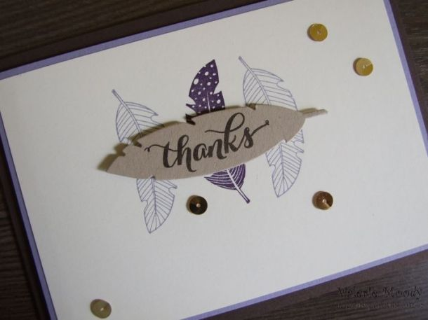 Stampin' Up! - Four Feathers - Framelits - Bundle - Stamping With Val - Valerie Moody; Independent Stampin' Up! Demonstrator. X