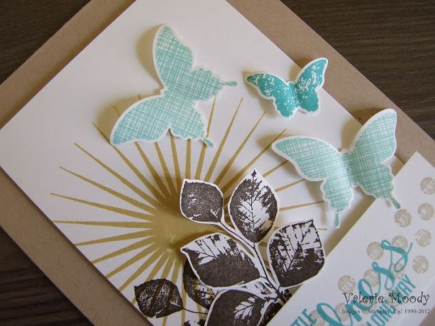 Stampin' Up! - Kinda Eclectic - A Little Kindness - Stamping With Val - Valerie Moody; Independent Stampin' Up! Demonstrator. X