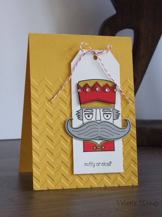 Stampin' Up! - Santa's Stache - Christmas Cards - Stamping With Val - Valerie Moody; Independent Stampin' Up! Demonstrator. X
