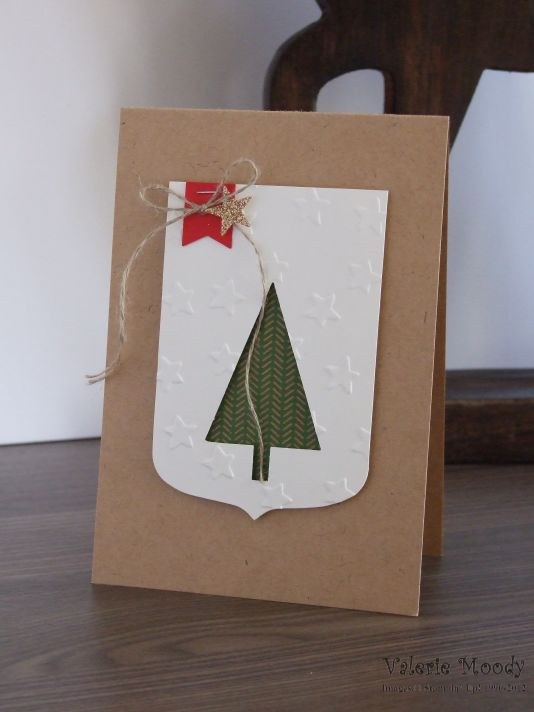 Stampin' Up! - Christmas Cards - Stamping With Val - Valerie Moody; Independent Stampin' Up! Demonstrator. X