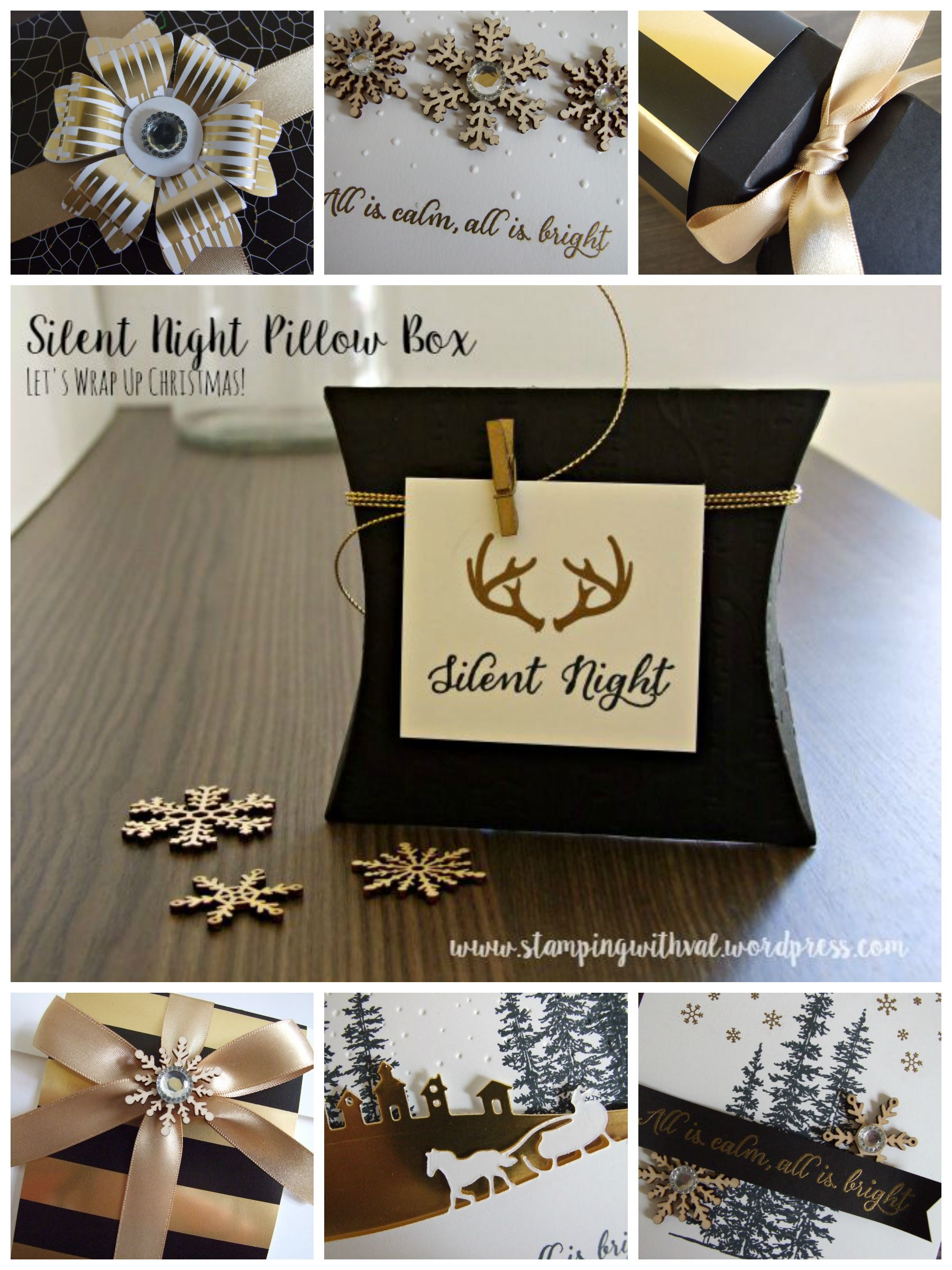 Let's Wrap Up Christmas with Stamping With Val - Valerie Moody; Independent Stampin' Up! Demonstrator. X