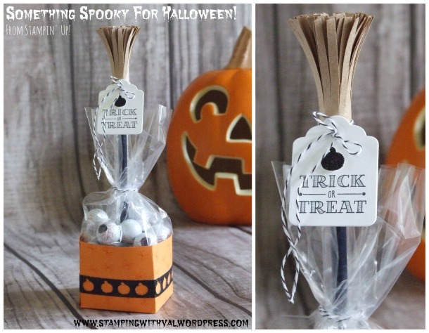 Stampin' Up! - A Little Something - Halloween - Baker's Box - Stamping With Val - Valerie Moody; Independent Stampin' Up! Demonstrator. X