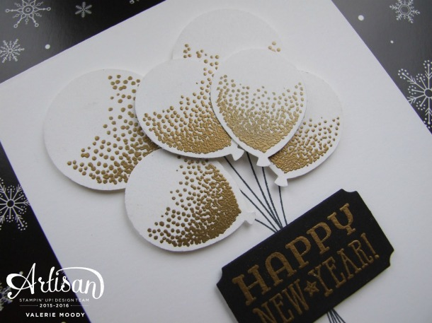 Stampin' Up! - Balloon Celebration - Artisan Design Team Blog Hop - Stamping With Val - Valerie Moody. X