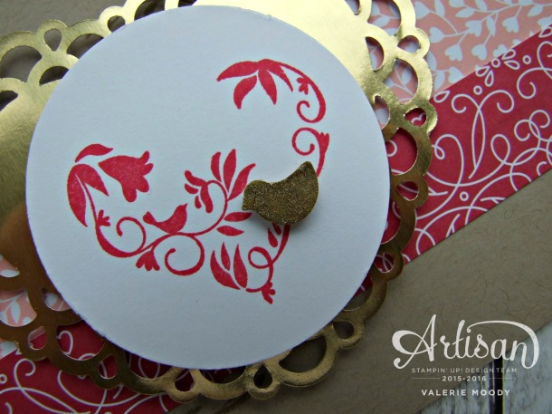 Love Birds - Artisan Design Team Blog Hop - Stamping With Val - Valerie Moody 2