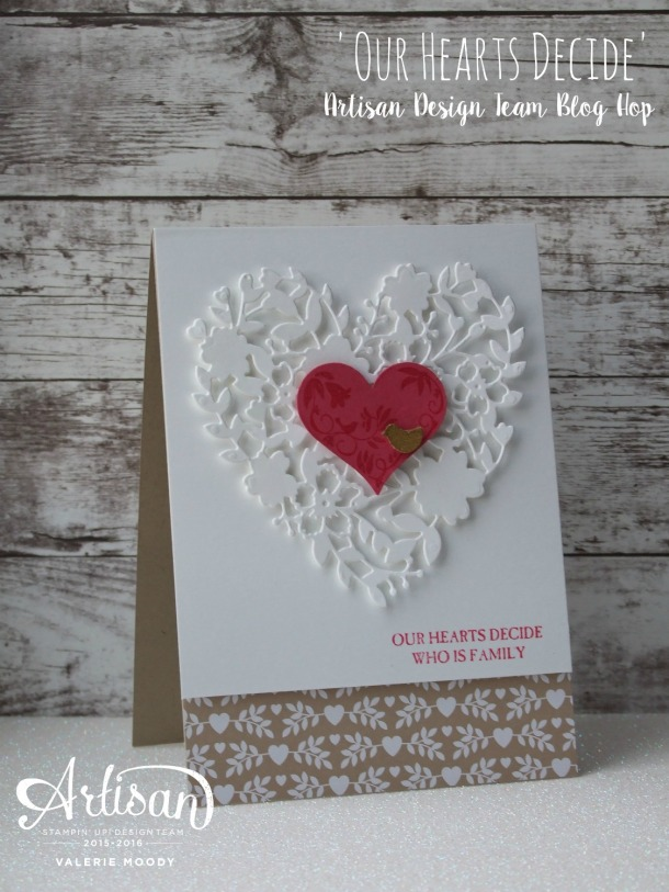 Love Birds - Artisan Design Team Blog Hop - Stamping With Val - Valerie Moody 3