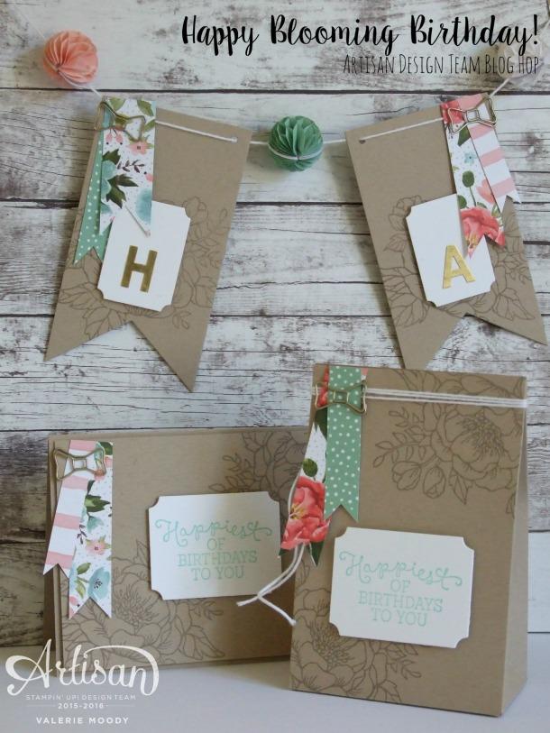 Happy Blooming Birthday - Valerie Moody - Artisan Design Team 2