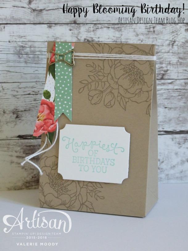 Happy Blooming Birthday - Valerie Moody - Artisan Design Team