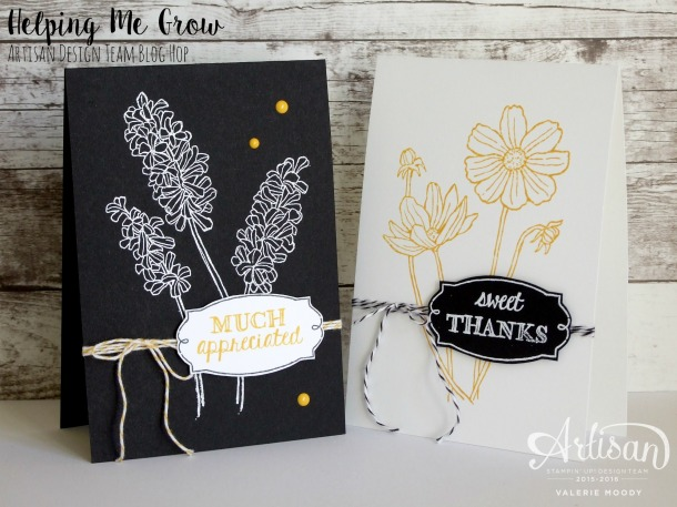 Stampin' Up - Helping Me Grow - Stamping With Val - Artisan Design Team 3