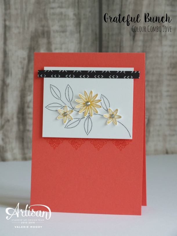 Stampin' Up! - Grateful Bunch - Stamping With Val - Valerie Moody; Independent Stampin' Up! Demonstrator. X