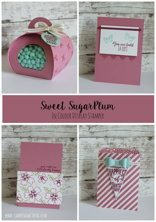 Stampin' Up! - Sweet Sugarplum - Stamping With Val - Val Moody; Independent Stampin' Up! Demonstrator. X