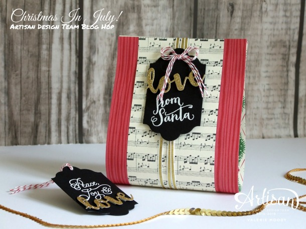 Stampin' Up! - Christmas In July - Peace This Christmas - Artisan Design Team Blog Hop - Valerie Moody. X
