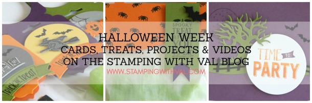 Stamping With Val - Halloween Week 2016!