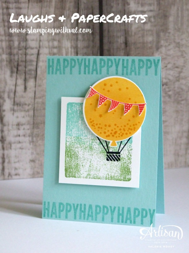 Stampin' Up! - Balloon Celebration - Valerie Moody; Independent UK Stampin' Up! Demonstrator. X