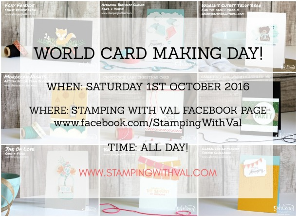 Stamping With Val - World Card Making Day