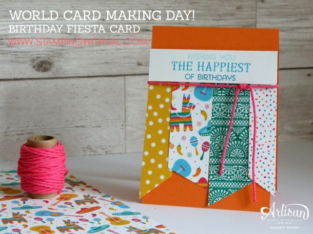 Stampin' Up! - Birthday Card - Paper - Stamping With Val - Stampin' Up! UK