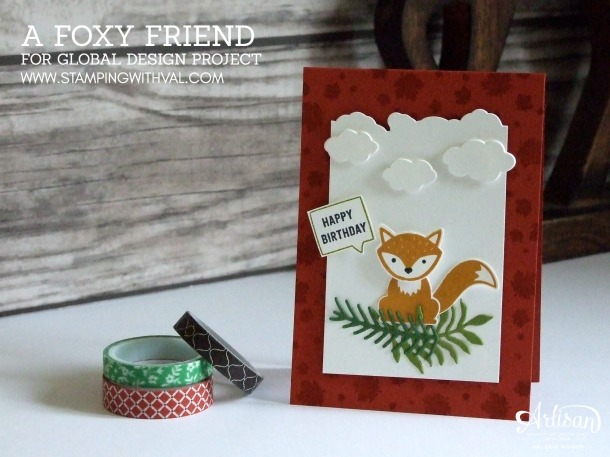 Stampin' Up! UK - Foxy Friends by Valerie Moody; Stamping With Val